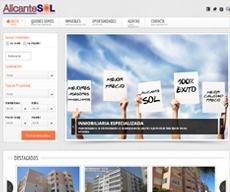 Web para el cliente Alicante Sol de Santa Pola y Arenales del Sol (Alicante)