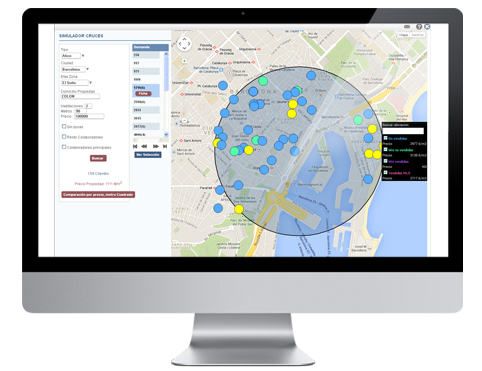 Simulador para sondeo de precios por zona.