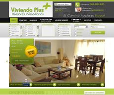 Web para el cliente Vivienda Plus Elche de Elche (Alicante)