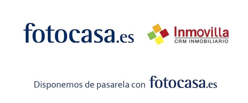 Pasarela con portal inmobiliario Fotocasa.