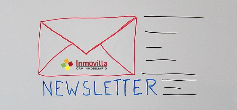 Email Marketing inmobiliario: Envíos de propiedades.