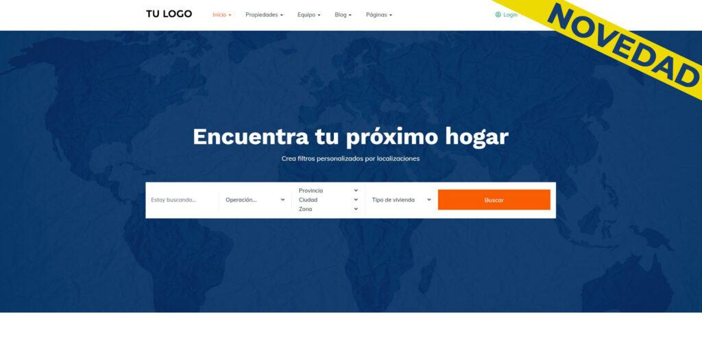 Modelo web wordpress Casa Plata